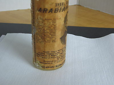 Apothecary Medicine Bottle Dr. Hayne's Arabian Balsam. Prov, R.I. Paper Label 5