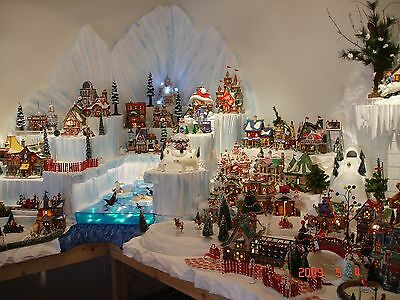 Department 56 Christmas Village Display.How To Build Village Display Dvd Department 56 D56 Christmas Holiday Diorama