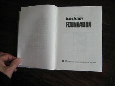 Isaac Asimov The Foundation Trilogy Taiwan Piracy edition (Avon) pirate 6