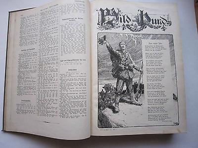 """""""Wild und Hund""""  23. Jahrgang Januar - Dezember 1917, Hege,Pirsch 2"""