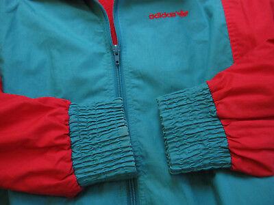 VESTE ADIDAS 90'S Vintage Vert et rouge Jacket Tracksuit