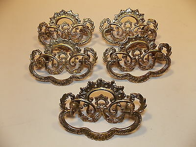 One Original Vintage brass pull (five available) 2