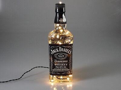 Jack Daniels - Flaschen Lampe mit 80 LEDs 220V Warm- UND Kalt-Weiß UMSCHALTBAR 10