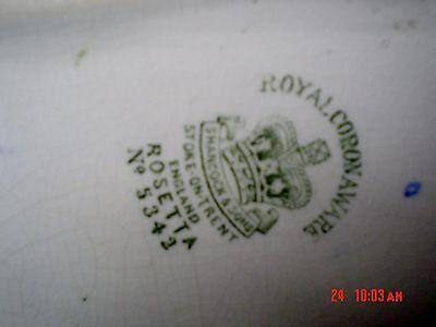 Very Pretty Hancocks And Sons Royal Corona Ware ROSETTA  No 5342 Posy Vase?