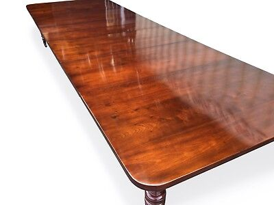 Fantastic 14.9ft Antique Grand Victorian Walnut dining table 1831-1901 3