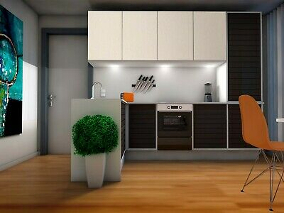 Küchenfolie Folie Küche weiß matt 61,5 cm 1 m 11,95 € //m