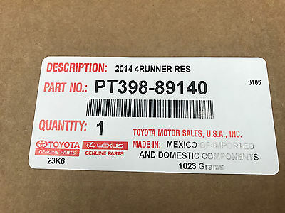 Toyota OEM Remote Engine Start 2013-2019 Toyota 4Runner PT398-89140 Instructions