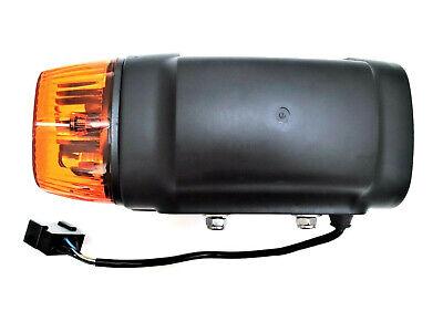 Links H4 Scheinwerfer mit Blinker 24V für Radlader Baumaschinen Bagger JCB Merlo
