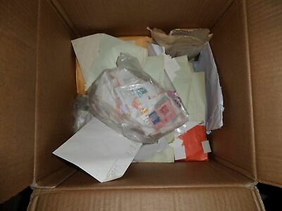 Mega Accumulo ..---Cartone Di 15 Kg Di Collezionismo Cartaceo E Francobolli 3