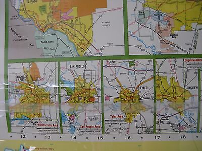 National Geographic Large Pull Down School Map Texas 70 Inches By