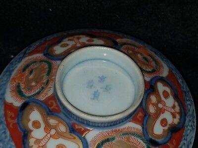 ANTIQUE JAPANESE PORCELAIN ARITA IMARI FUKI CHOSHUN MEIJI PERIOD rice bowl 3