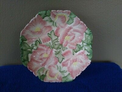"""1988 Fitz and Floyd Magnolia Serving Dish 9.25"""" 2"""