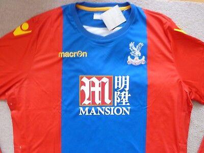 CRYSTAL PALACE SHIRT+ away shirt EU 4XL UK XXXL Palace FOOTBALL top bnwt