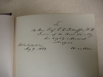 "Life and Times of Henry Melchior Muhlenberg - written and inscribed by ""author"" 2"