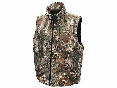 67594eee988a3 ... Men's Insulated Reversible Vest Hunting Shooting CAMO REALTREE/MAX  BLACK/ORANGE 4