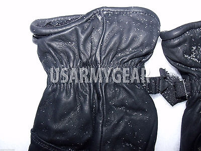 Army Leather Cold Wet Weather ICW Quality Size 3 Gloves XS,S,M Medium Womens Kid 7