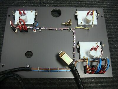Polaron E6300 Sputter Coater Sputtering System Fisons Vacuum Control Panel 7