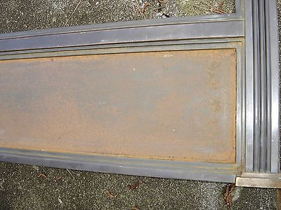 Antique Bronze Teller Window, or Divider or Sign Holder.8381