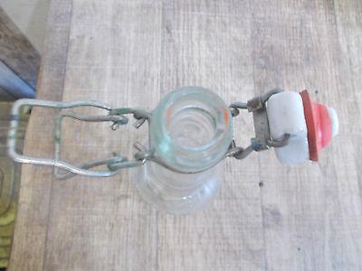 alte Mineralwasserflasche,Dänische Wasserflasche,Bügelverschluss,Glasflasche 4