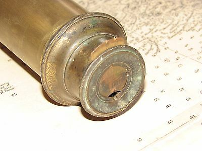 07C42 ANCIENNE LONGUE VUE DE MARINE 106 CM LEREBOURS /& SECRETAN OPTIQUE XIX e
