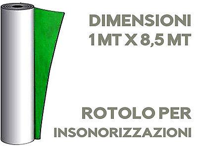 INSONORIZZAZIONE MUSICA ROTOLO AUTO ADESIVO 8,5M Piombo Gommapiombo Polipiombo 4
