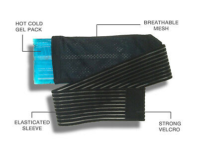 Reusable Hot/Cold Pain Relief Gel Pack & Compress Wrap Helps Speed Up Recovery
