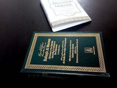 ISLAMIC BOOK (BULUGH AL-MARAM) PROPHET HADITH P in 2002. English Arabic 11