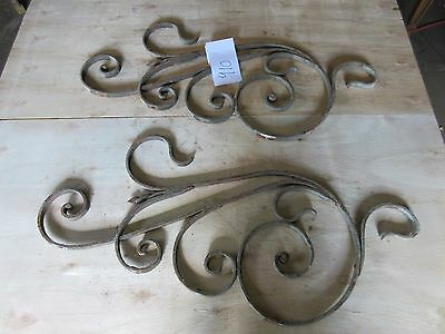 Antique Victorian Iron Gate Window Garden Fence Architectural Salvage #910 5