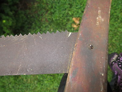 Unique Antique Vintage Saw! VHTF! Nice old piece of history for your collection! 9