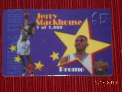 COLLECTIBLE  Phone Cards (5) ET, JETSON, STACKHOUSE, CARTER, & FLOYD 5