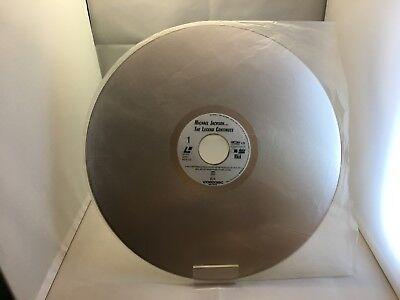 Rare Laser Disc Japonais Michael Jackson Motown LD The Legend Continues NTSC