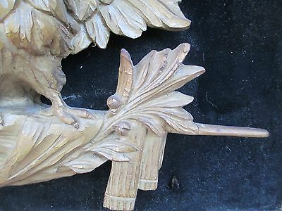Antique Carved Wood Eagle FOLK ART 4