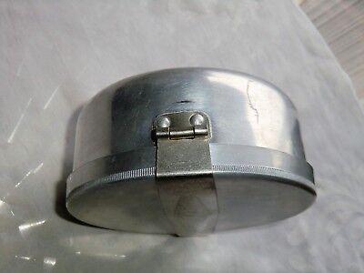 Wolfsiffer´s Pulvermisch-Dose rund komplett mit 3 Kugeln aus Aluminium 8
