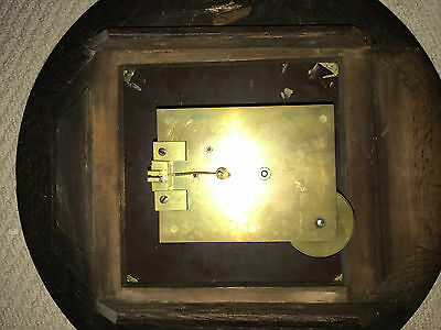 Oak Fusee Wall Clock by Elliott of London 8