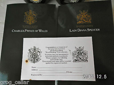 Prince Charles & Diana Spencer Royal Wedding Port Ltd Edit 1981-The  HOLY GRAIL 5