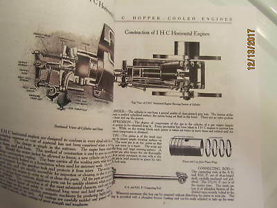 IHC International Harvester Gas Engine Catalog All sizes, hit miss, mags, pumps 3