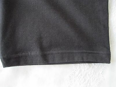 "Girls/Ladies Cycle Shorts BLACK sz L (34-36"" Waist) Cotton/Elastane UK Made NEW 6"