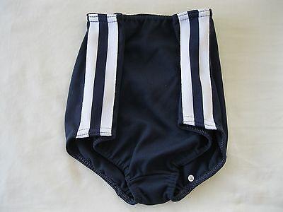 "Gymphlex Girls Athletics Briefs/Underwear Navy Blue size 22"" Age 6-10 yrs BNIB 4"