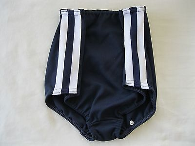 "Gymphlex Girls Athletics Briefs Underwear Navy Blue size 22"" Age 6-10 yrs BNIB 4"
