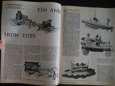Antiques Journal 1977 Norwegian Christmas Baking Utensils Kitchen Tin Iron Toys