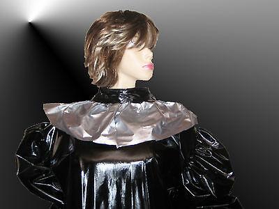 Lackkleid lang,Godetkleid mit Schürze,Godetdress long Vinyl,Maiddress,Vinyldress 5