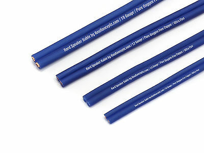 KNUKONCEPTZ KORD SPEAKER Wire Ultra Flex Blue OFC 14 Gauge Cable 50 ...
