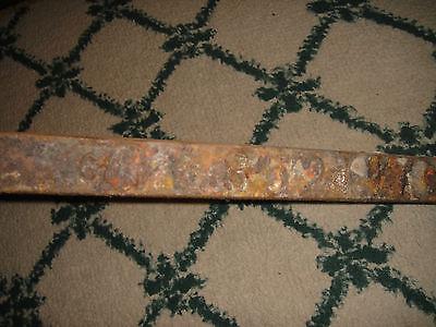 Antique Peerless Andirons-Cast Iron-3521-Resembles Rooster Running-Pair-LQQK 7