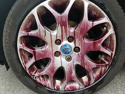 X 500 Devils Blood Car Paint Fallout Bleeding Wheel Cleaner Iron Remover V15 4