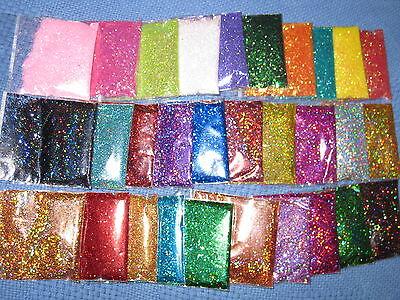 GLITTER FOR CAKE DECORATION 15 bags x 5 gram = 75 grams 3