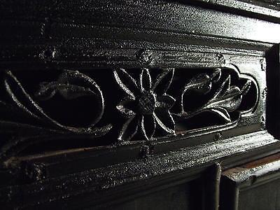 Beautiful Chinese Black Walnut Warrior Cabinet Antique 5