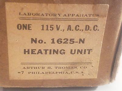 Vintage Arthur H. Thomas Co. Philadelphia Laboratory Apparatus Heating Unit 4