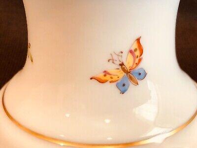 Hochst Floral Candleholder Hand Painted Porcelain New 2