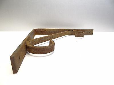 Vintage Steel Corner Bracket Plant Hanger Hook Decorative Architectural Hardware 4