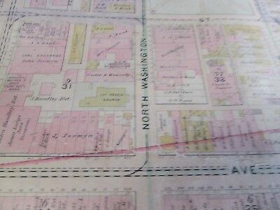 City Of Scranton - 1898 Downtown Map - Ward 8,17,9 - I.c.s, Scranton H.s. (#1) 11
